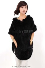 Mink Fur Kintted Vest/Coat