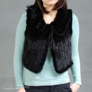 Mink Fur Kintted Vest