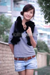 Sheared Rabbit Fur Vest