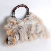 Fox Fur Handbag / Purse