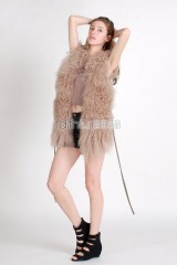 Tibet Sheep Fur Vest